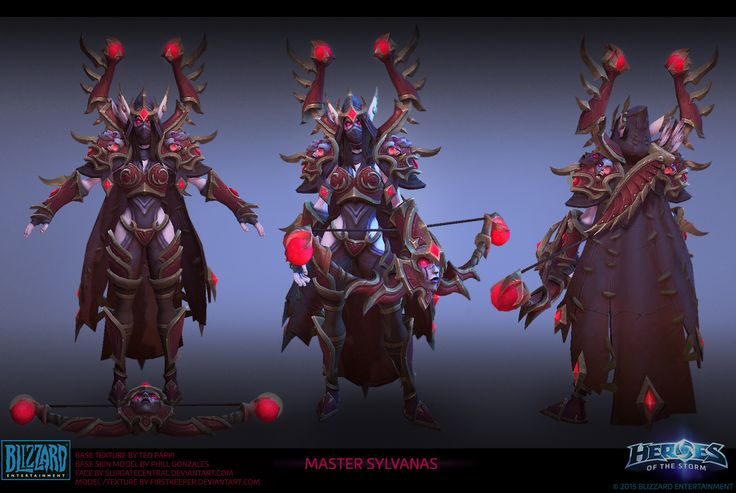 Sylvanas Master skin by FirstKeeper on DeviantArt Heroes of the Storm
