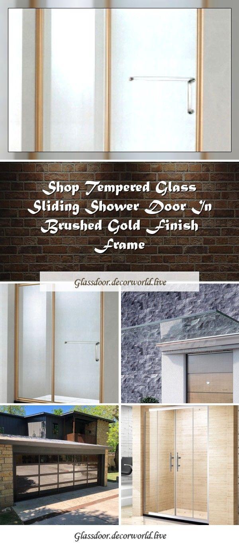 Tempered Glass Door Canopy Linea Plus Linea Collection By Faraone Design Nino Faraone Matteo Paolinit In 2020 Shower Doors Shower Sliding Glass Door Glass Garage Door