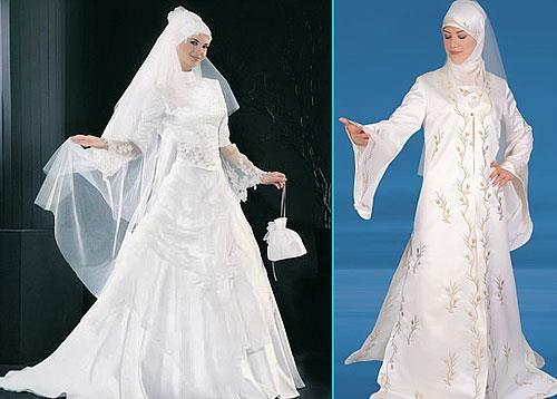 Платье для невесты мусульманская одежда