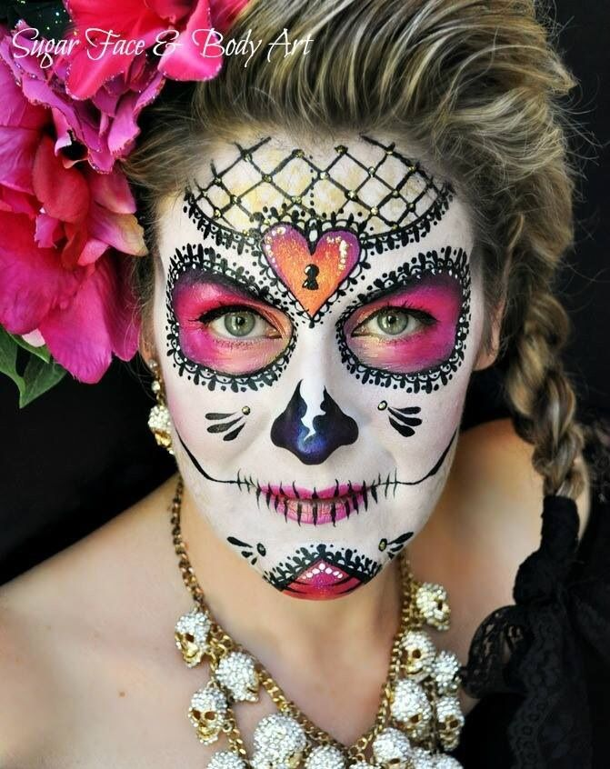 Another beautiful design by the dream team of Sugar Skulls! Www.sillyfarm.com