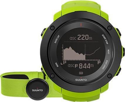 Suunto Умные часы Suunto SS021970000. Коллекция Ambit3  — 41990 руб. —  <P>SUUNTO AMBIT3 VERTICAL LIME HR</P>GPS-часы для многоборья с поддержкой пульсометра, умеющие планировать и отслеживать совокупный подъем. Возможность определения координат как по данным GPS, так и по данным Глонасс. 15 часов работы от батареи с 5-секундной GPS-точностью (1-минутная точность: 100 часов). Указание скорости, темпа и расстояния. Будильник, таймер обратного отсчета. Светодиодная подсветка. Высотомер с…