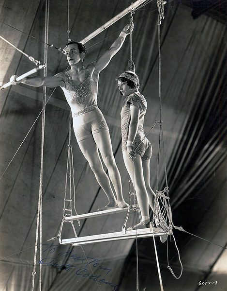 Alfredo and Vera Codona (c.1932) circus flying Trapeze Performers