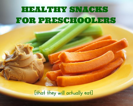 Examples of healthy snacks for preschoolers (that they will actually eat) @MomNutrition