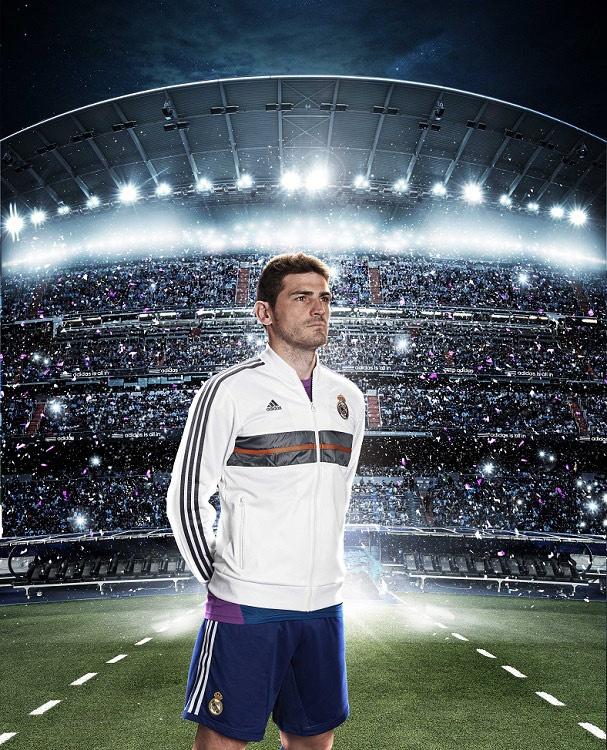 adidas presento la nueva camiseta del Real Madrid para la temporada 2013-2014 (+Fotos)