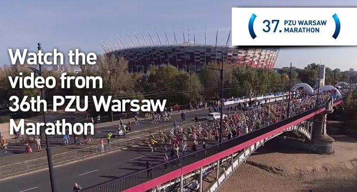 PZU Warsaw Marathon 27.09.2015 www.pzumaratonwarszawski.com/en #Warsaw