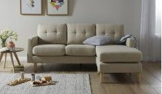 HARWOOD 3 SEATER CHAISE