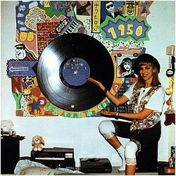 Debbie Gibson shows off the mural she painted in her bedroom, including 1950s, George Michael, and Les Miz references.