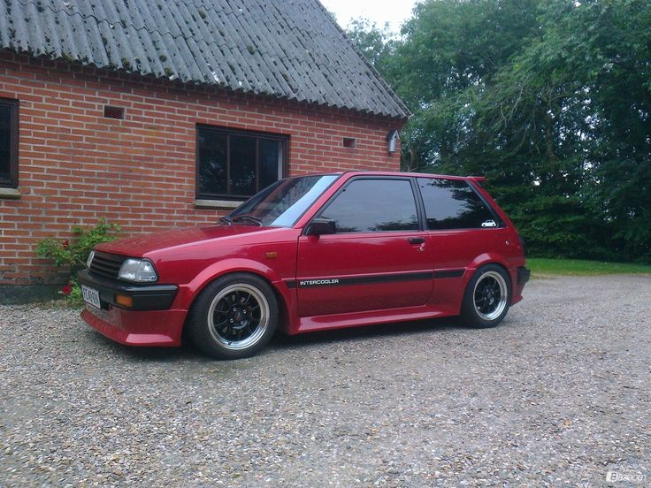 Toyota Starlet Ep71 Sport Turbo Intercooler 1985 Picture 12