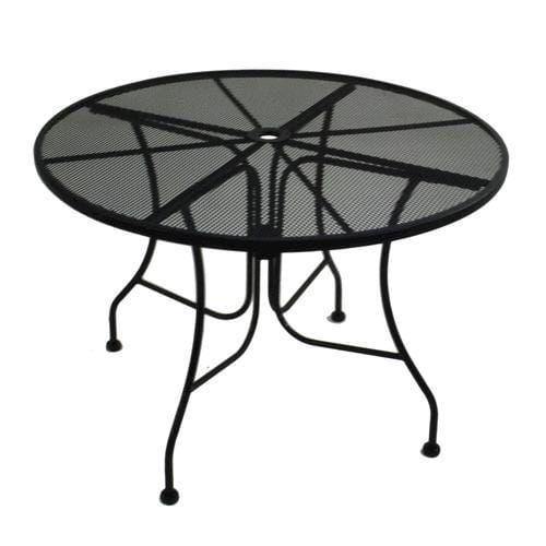 Backyard Creations® Wrought Iron Round Dining Patio Table at Menards®: Backyard Creations® Wrought Iron Round Dining Patio Table