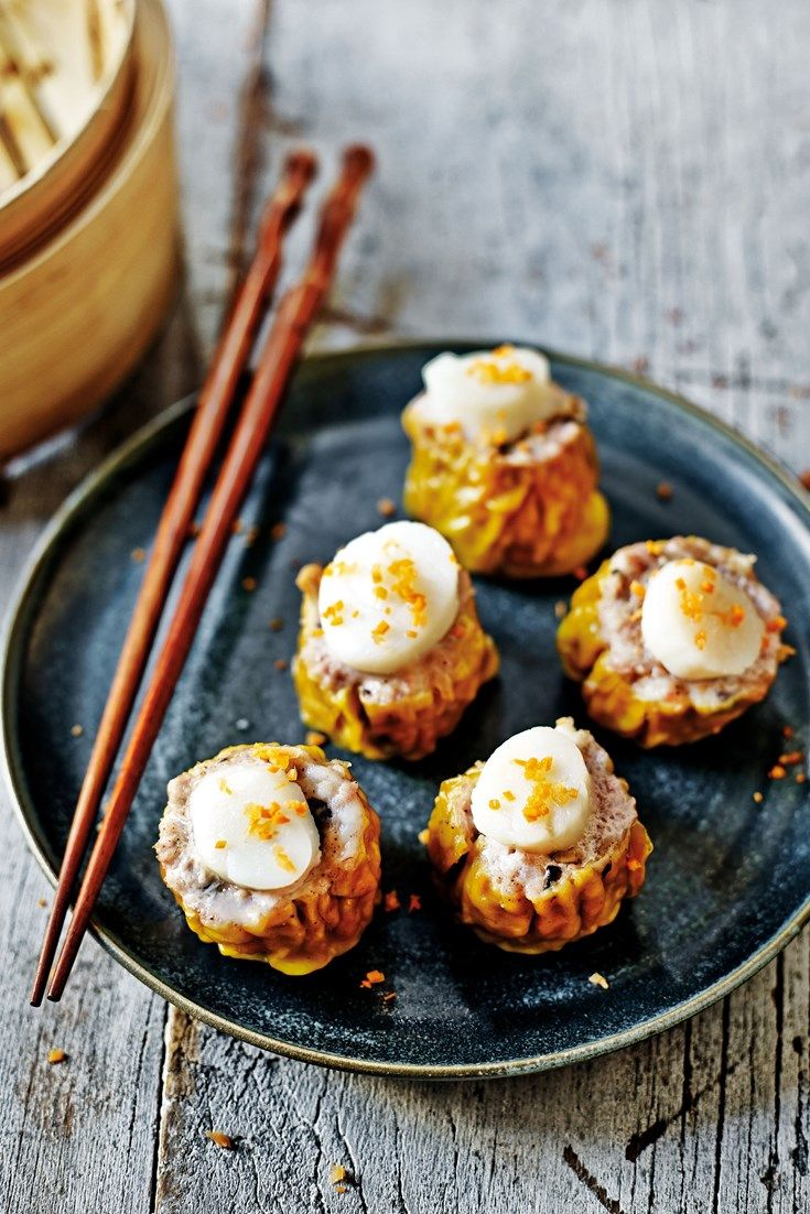 This stunning collection of dim sum recipes features recipes from top Chinese chefs including Tong Chee Hwee's har gau & Jeremy Pang's scallop siu mai. #recipe