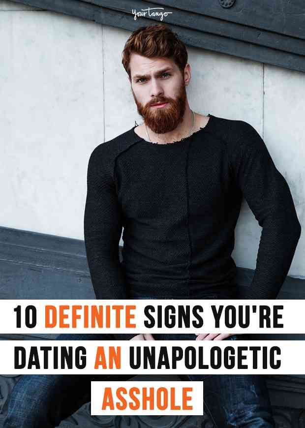 signs youre dating a jerk