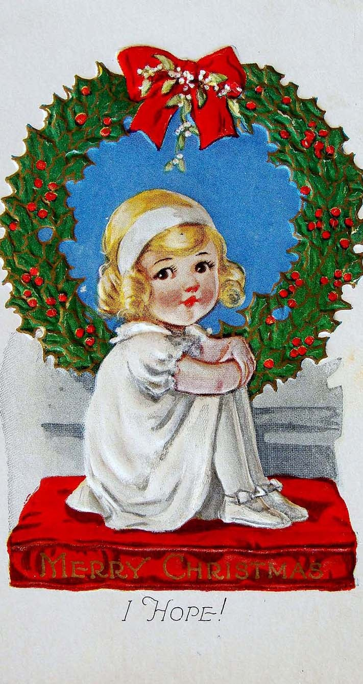The 257 Best Vintage Christmas Scrap 2 Images On Pinterest
