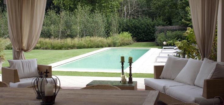 17 migliori idee su scala da giardino su pinterest for A forma di casa piani con piscina cortile
