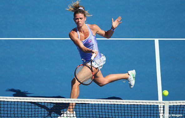 Alison Riske vs Camila Giorgi WTA Shenzhen Live Tennis Score