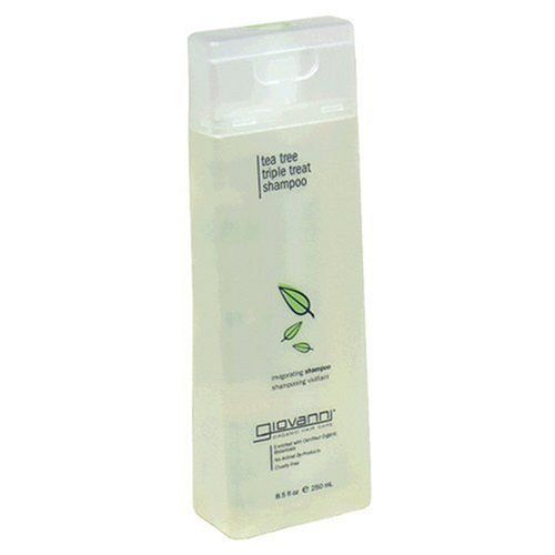 Giovanni Invigorating Shampoo, Tea Tree Triple Treat, 8.5 fl oz Bottle *** Read more reviews of the product by visiting the link on the image.