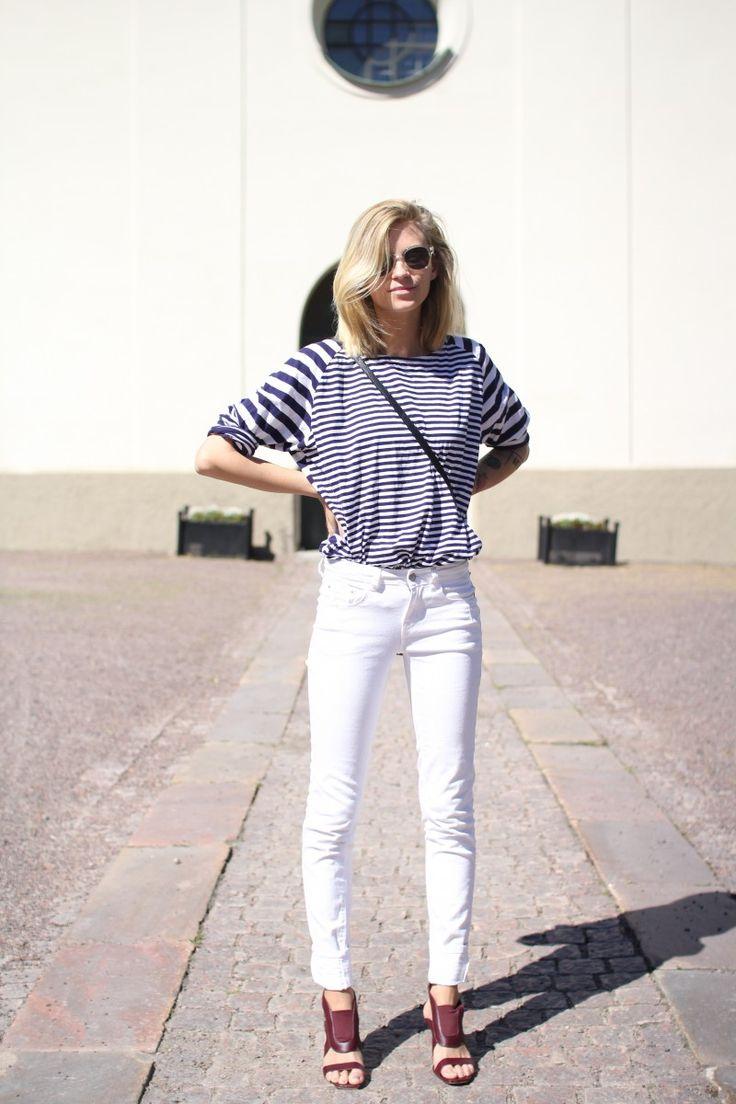 25  best ideas about White skinnies on Pinterest   Women's ...
