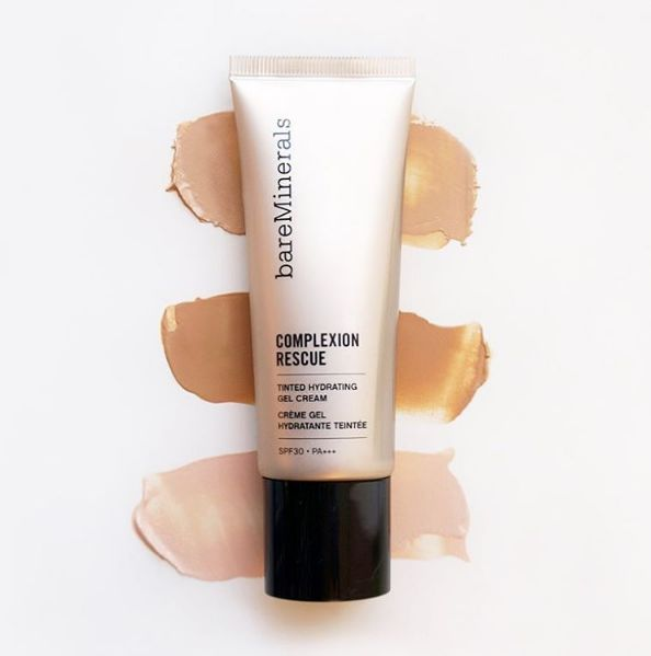 bareMinerals | Complexion Rescure for hydrated and energised skin in Winter.