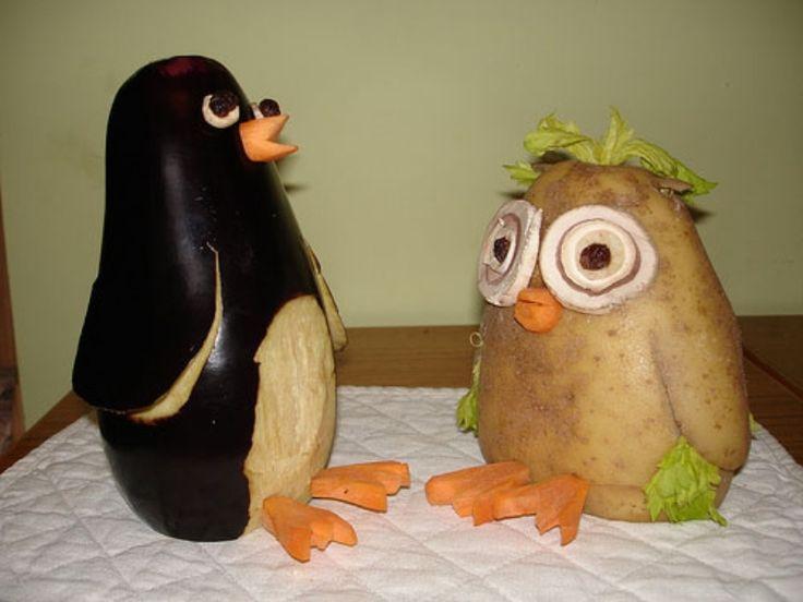 Best ideas about vegetable animals on pinterest
