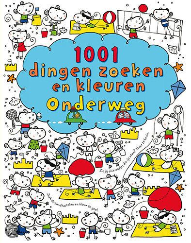 1001 dingen zoeken en kleuren onderweg