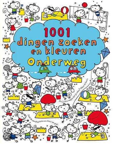 bol.com | 1001 dingen zoeken en kleuren onderweg, Fiona Watt & Stella Baggott