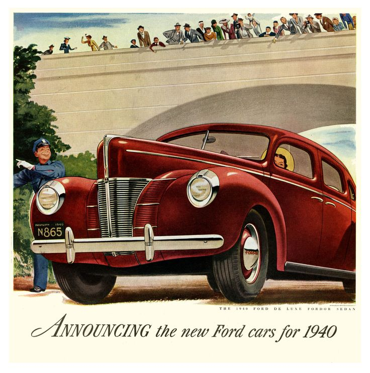 256 best Vintage car ads and posters images on Pinterest | Car ...