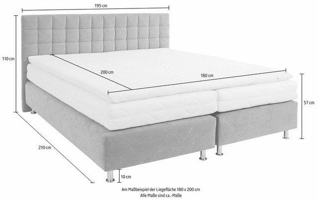 Boxspringbett In 2020 Bett Wolle Kaufen Und Federkernmatratze
