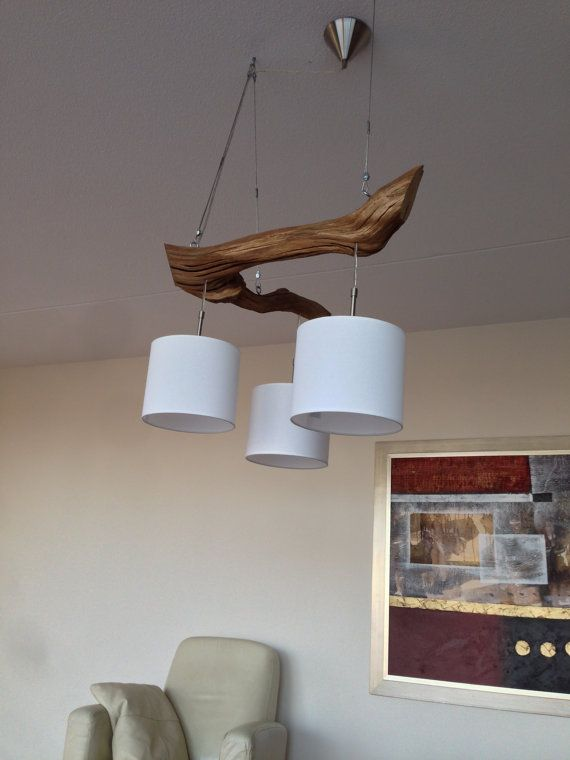 Ceiling lights with three lights manufactured from by GBHnatureart, €270.00