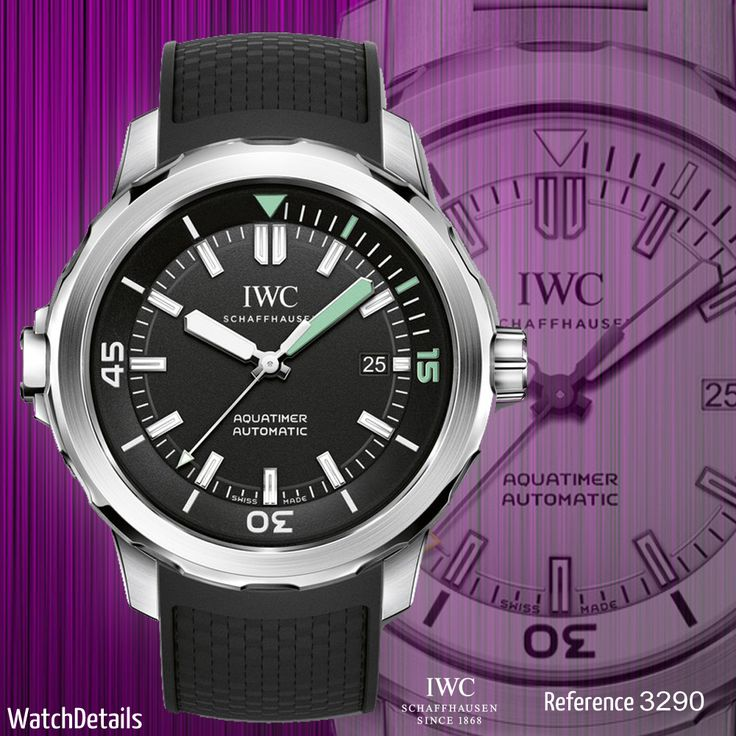 Read more Watches Diving Aquatimer Automatic Reference 3290 http://www.watchdetails.com/2015/01/watches-diving-aquatimer-automatic.html #watches #sports #diving #fashion
