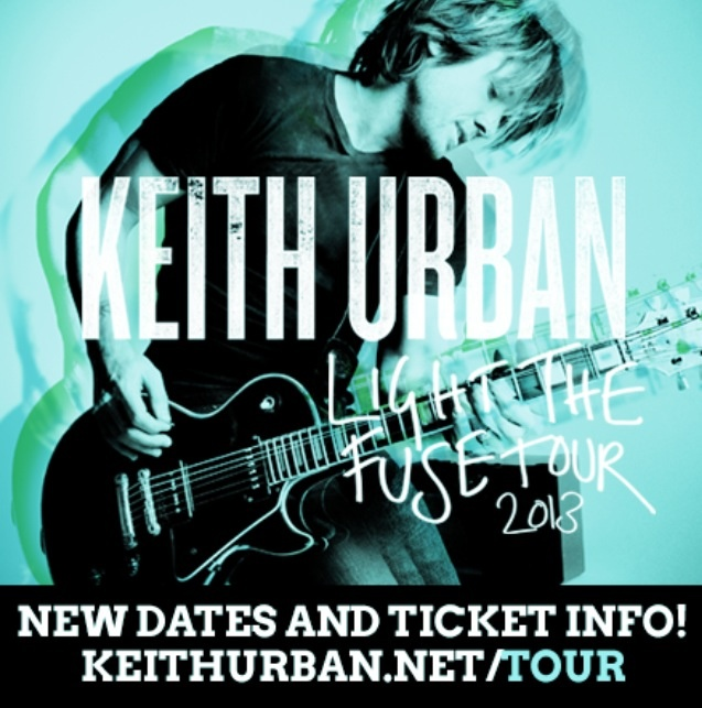 @Keith Urban  Light The Fuse Tour 2013 with Little Big Town & Dustin Lynch   NEW TOUR DATES!!!! www.keithurban.net/tour