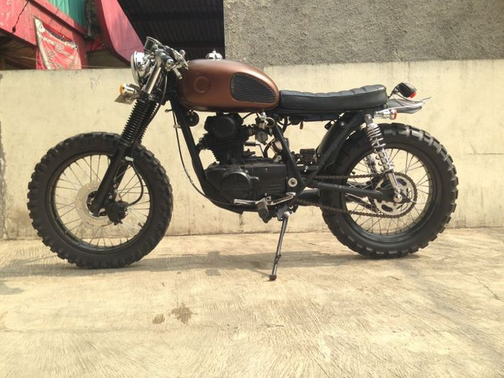 1980 KZ200 custom motorcycle for sale