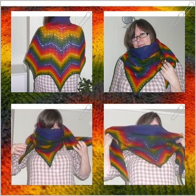 Revontuli/Northern Lights shawl. Started in 2010, finished in jan this year :-O)