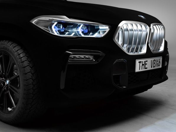 The First Car Painted With The World S Blackest Black Is Deeply