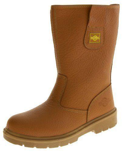 Footwear Studio , Chaussures de sécurité pour homme black/brown/tan – – Marron, 46: Price:35.05 Source