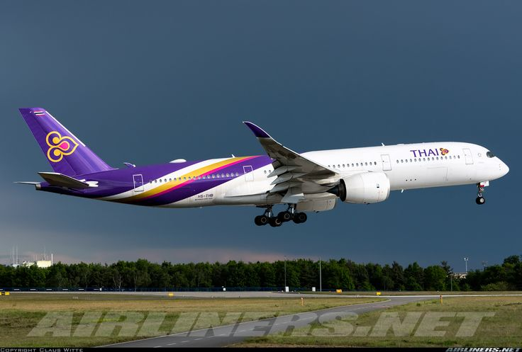 Airbus A350-941 - Thai Airways International | Aviation Photo #4372399 | Airliners.net