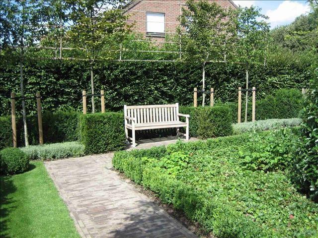 Landelijke tuin te tielen villatuin te tielen for Tuinarchitect kleine tuin