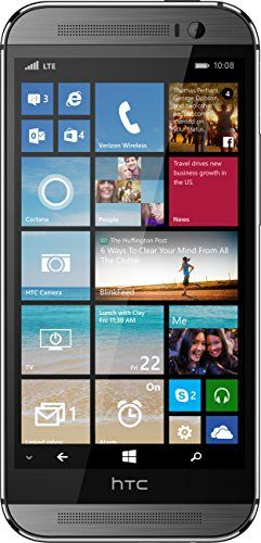 HTC One M8 for Windows, Gunmetal Grey 32GB (Verizon Wireless) - http://topcellulardeals.com/?product=htc-one-m8-for-windows-gunmetal-grey-32gb-verizon-wireless