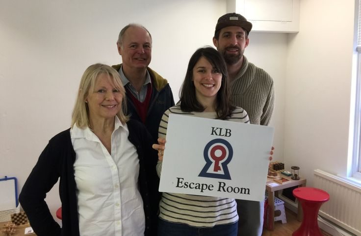 Team SAS Escape The Room in 53 Minutes | KLB Escape Room