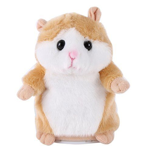 Forart Talking Hamster Mouse Sound Record Interesting Plush Toys for Kids. #Forart #Talking #Hamster #Mouse #Sound #Record #Interesting #Plush #Toys #Kids