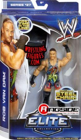Rob Van Dam - WWE Elite 27 | Ringside Collectibles