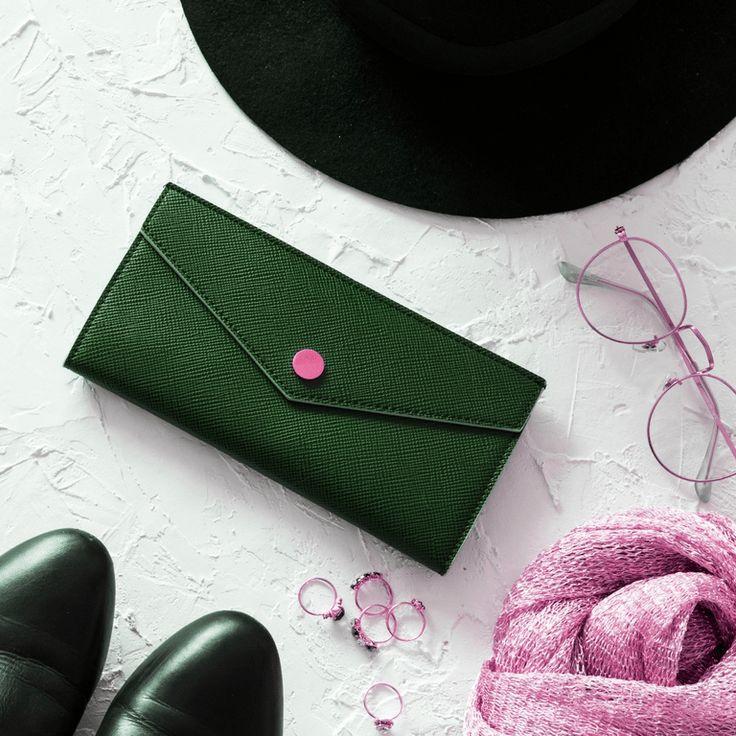 Pochette enveloppe ~ L'atelier rose | Mooka, le quotidien du DIY