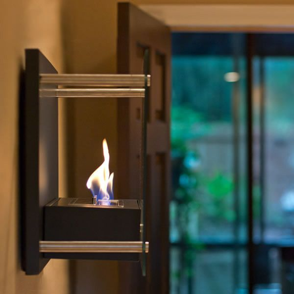 Radia Ethanol Fireplace - Wall Mounted