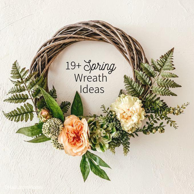 Spring Wreath Ideas Spring Wreath Wreath Ideas Unique Diy