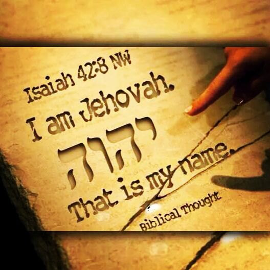 "Isaiah 42:8 ""I am #Jehovah. That is my name; I give my glory to no one else, Nor my praise to graven images."" #bible #jwlibraryapp"