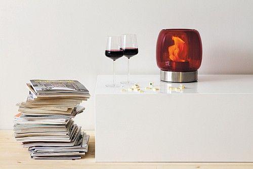 Kassa light in red h25cm. See inreda.ie
