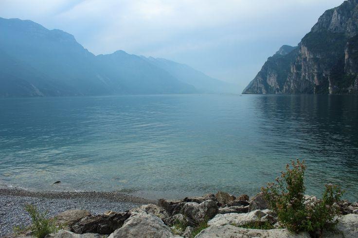 View from Riva del Garda (TN); Italy