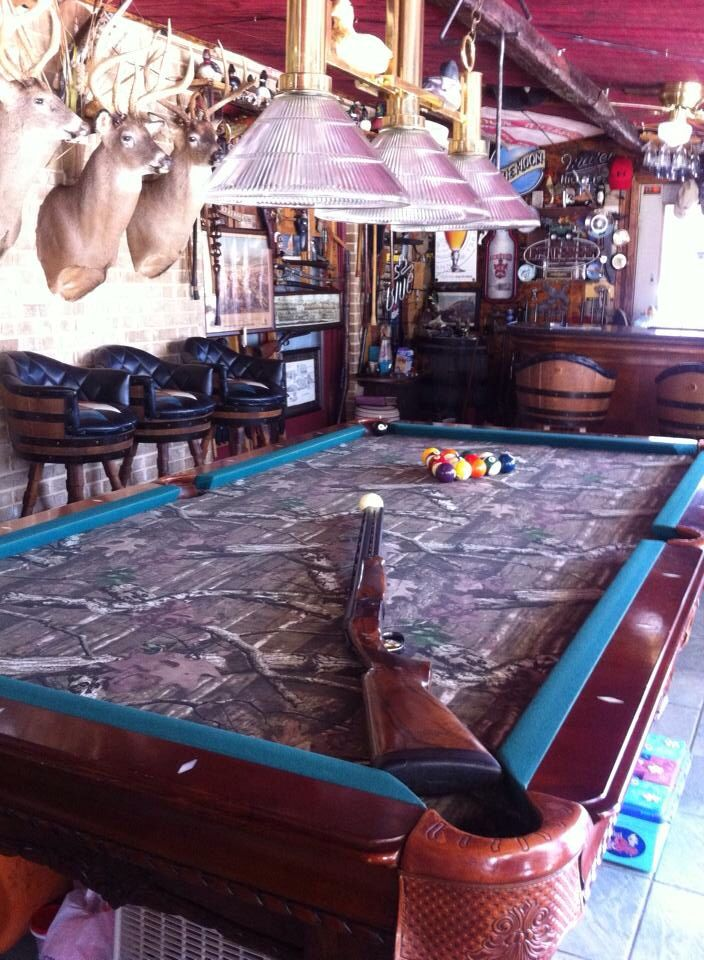 Man Cave Accessories Brisbane : Camo pool table for my future home yes stuff