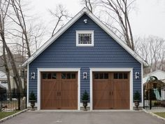 cute two car garage - Google Search                              …