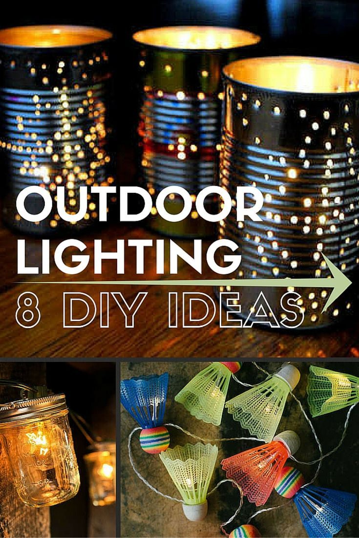 Diy Outdoor Lighting Ideas Pinterest