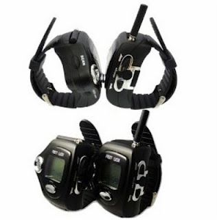 communication - wrist walkie talkies...cool~!