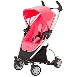 Quinny Zapp Xtra Stroller with Folding Seat, Pink Precious